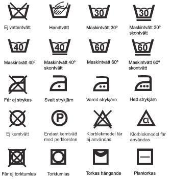 Tv ttr d tv ttsymboler fl ckborttagning sk tselr d - Instructions de lavage symboles ...